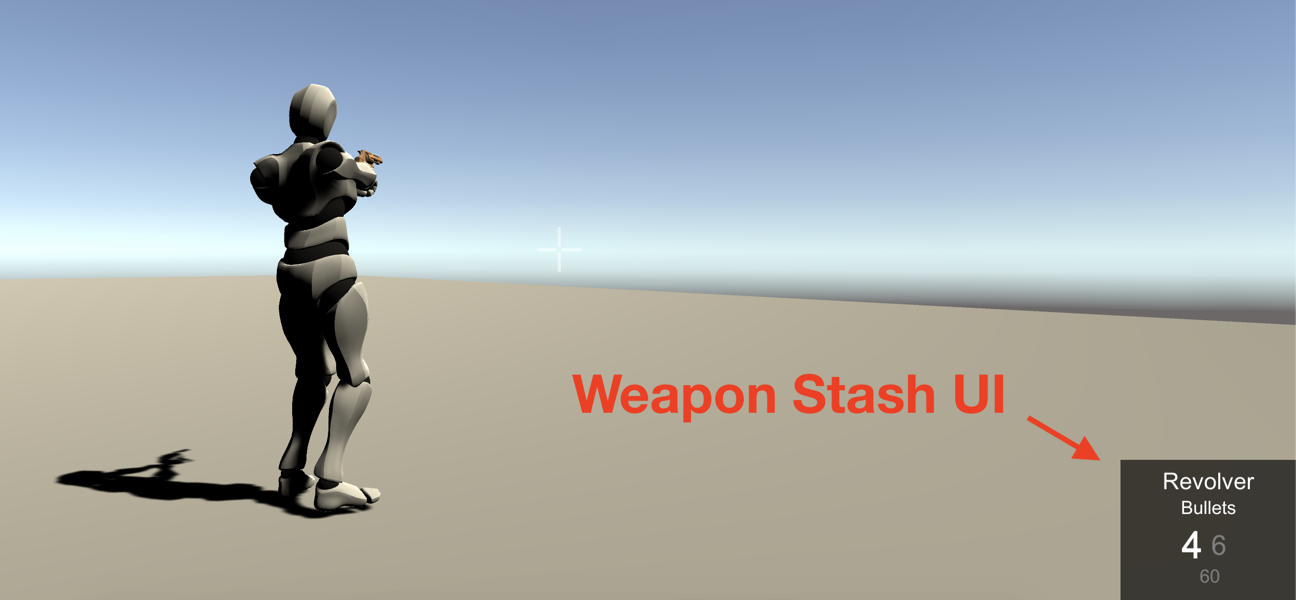 Weapon Stash UI component